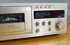 SONY TC-KA7, DOLBY S, D-DRIVE, DUAL-KAPSTAN, 12,2 KG, MINT CONDITION with RC