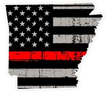 Arkansas State (C6) Thin Red Line Vinyl Decal Sticker Car/Truck Laptop/Netbook