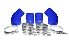 2000 DODGE Cummins® INTERCOOLER BOOT KIT BLUE SILICONE KIT STAINLESS CLAMPS