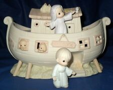 "*RETIRED PRECIOUS MOMENTS  TWO BY TWO ""NOAH'S ARK NIGHTLIGHT SET"" $225.00 VALUE"