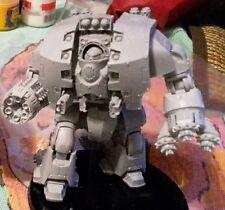 warhammer 40k LEVIATHAN DREADNOUGHT WITH  GRAV FLUX BOMBARD AND SIEGE DRILL