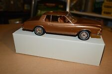 Vintage Dealer Promo Car 1979 Monte Carlo Brown BRAND NEW IN BOX