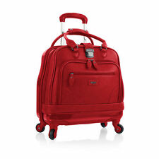 "Heys Nottingham Business Case 17"" CarryOn Laptop Spinner Wheeled Overnight Red"