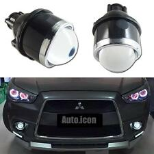 "3.0"" HID Bi-Xenon Dual Beam Retrofit Projector Replacement Fog Lamps Housing"