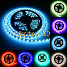 5M Black PCB 5050 RGB LED Strip light High power LED Waterproof IP65 300leds 12V