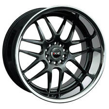 XXR  526  Chromium Black with Stainless Steel Lip  20x9  (+13)  5x114.3/5x120