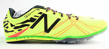 New Balance Womens WMD500 Track and Field Neon Green Running Shoes 9