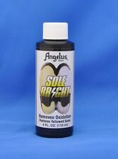 Angelus Sole Bright, Icy Sole Restorer Sauce, SeaGlow- Removes Yellowing! NEW