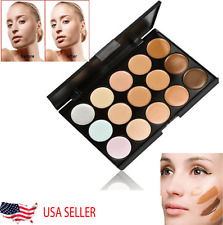 Makeup Concealer Palette 15 Colors Professional Salon Party Contour Face Cream
