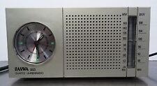 Kultiges Uhrenradio Quartz Uhr Wecker Radiowecker Sanwa 2023 Radio AM/FM ~70er