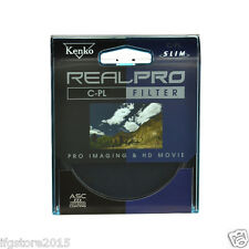 New Genuine Kenko REALPRO CPL 46mm Filter Anti-Stan Coating Filter Made in Japan