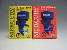 MERCURY OUTBOARD MOTOR MITSUWA TYPE A/B SET JAPAN toy ship