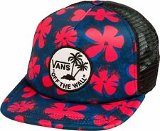 Vans Off The Wall Unisex Classic Patch Trucker Hat Cap - Multi Color Floral