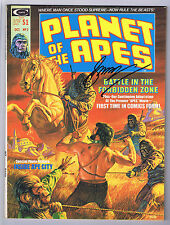 Planet of the Apes #2 Magazine Signed w/COA By Gerry Conway 1974 Curtis
