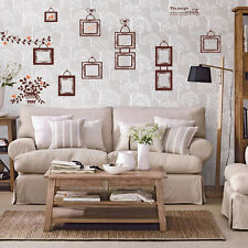 New Family Love Birds Photo Frame Tree Wall Stickers Wall Paper Art Decals Decor