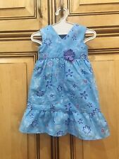 American Girl Doll 2011 Kanani's Retired Meet Outfit Blue Floral Dress ONLY