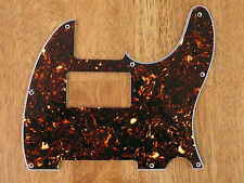 PICKGUARD BROWN TORTOISE SHELL 4 PLY HUMBUCKER CUT FOR TELECASTER