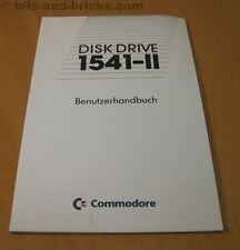 Disk Drive 1541-II Bedienungshandbuch - Handbuch für Commodore 1541-2