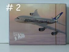 One Deck of Playing Cards - Singapore Airlines  A380 (#2)