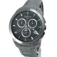TISSOT MEN WATCH SWISS MADE CHRONOGRAPH TITANIUM 100m SAPPHIRE T0694174406100