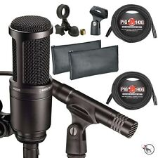 Audio Technica AT2041SP Vocal Instrument Microphone Studio Pack with Cables