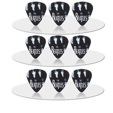 10pcs 0.71mm Rock band Beatles Guitar Picks Plectrums Musical Bass Instrument