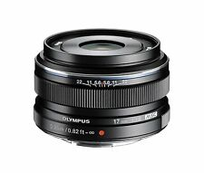 Olympus M.Zuiko 17mm f/1.8 AF Lens For Four Thirds (Black) + UV filter