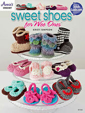 Baby Booties Sweet Shoes for Wee Ones 15 Adorable Pairs Crochet Pattern Book NEW