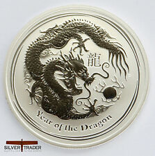 2012 australian year of the Dragon 1 once pièce argent bullion