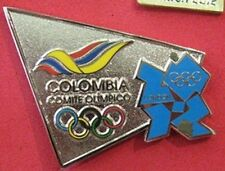 LONDON 2012 Olympic COLOMBIA NOC Internal team - delegation XL pin