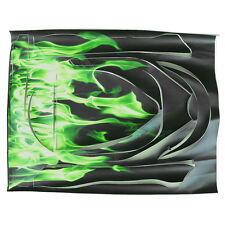 Balanced Car Stickers Green Flame Sticker Sleek Car Is Suitable For 6.5inch