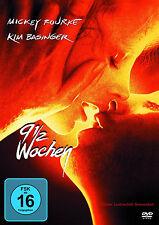 9 1/2 Wochen Kim Basinger-Micky Rourke Erotik 1xDvD Neu+Folie eingeschweißt #L2