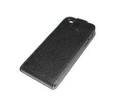 NEW BLACK OKER LEATHER FOLDING CASE APPLE IPHONE 5 5S  SUPER FAST SHIPPING