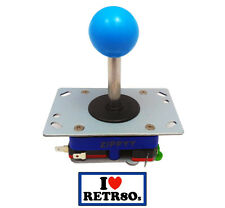 Arcade Joystick Zippyy Seimitsu clon Jamma PCB Blue Azul long shaft 78mm Retropi