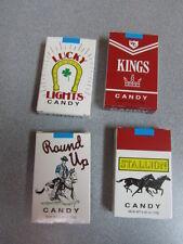 Original CANDY CIGARETTES 4 PACKS Nostalgic Retro-Vintage Candy Shop