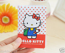 Hello Kitty Red Dot Plastic Business Card Holder Wallet KK402