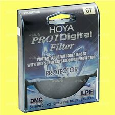 Genuine Hoya 67mm Pro1 D Pro 1 Digital Lens Protector Clear Filter Pro1D Pro 1D