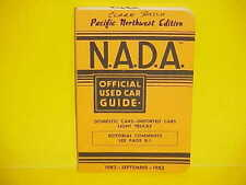 1975-1982 NADA OFFICIAL USED CAR PRICE GUIDE BOOK CHEVROLET FORD CHRYSLER DODGE