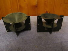 Phase Linear Andromeda Tweeters, Working Pair with Difusers