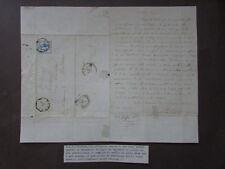 Autografo Augusto Conti Filosofia San Miniato Montanara 1863 Morte Figlio