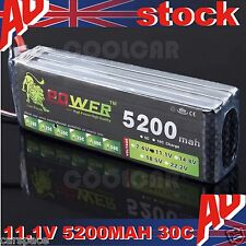 11.1V 5200MAH 30C Polymer lithiumion battery for Helicopter Remote Control Car