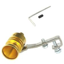 TRIUMPH Motorcycle Exhaust Pipe Whistle Turbo Sound  Simulator Whistle GOLD