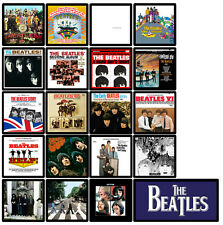 BEATLES 20 pack of album cover discography magnets (Abbey Road, Revolver, Let it