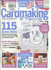 CARD MAKING & PAPERCRAFT,  NOVEMBER, 2015   ISSUE, 149 ( THE UK'S CARDMAKING MAG