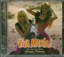 Out of Print - New CD - VIVA MARIA - Georges Delerue - Lt. Ed. 2000 - $45