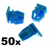 50x Honda plastica Trim Clips-per porta esterna MODANATURE, side trim & bumpstrip