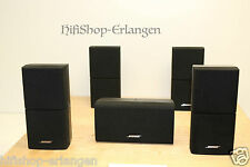 5x Bose Acoustimass 15 Series III, 3, Double cubi Center Nero Top USATO