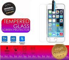 Vidrio Templado - Lámina Cristal Protector de pantalla para iPhone SE, 5S, 5C, 5