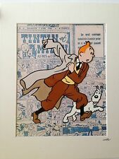 TinTin - Design 2 - Hand Drawn & Hand Painted Cel