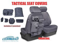 COVERKING TACTICAL MOLLE CHARCOAL CUSTOM FIT SEAT COVERS for NISSAN FRONTIER